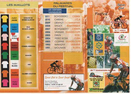 25 festival de la Bicyclette Flyer