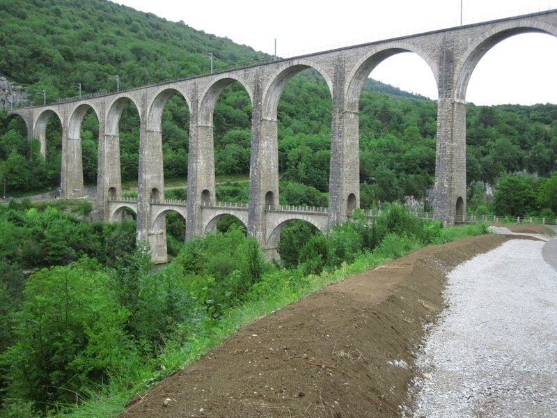 124 - gorges de l'Ain - viaduc de Daranche - Sa 17 juil 2010