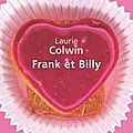 Frank et billy - laurie colwin