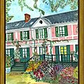 Giverny maison Claude Monet. Eure