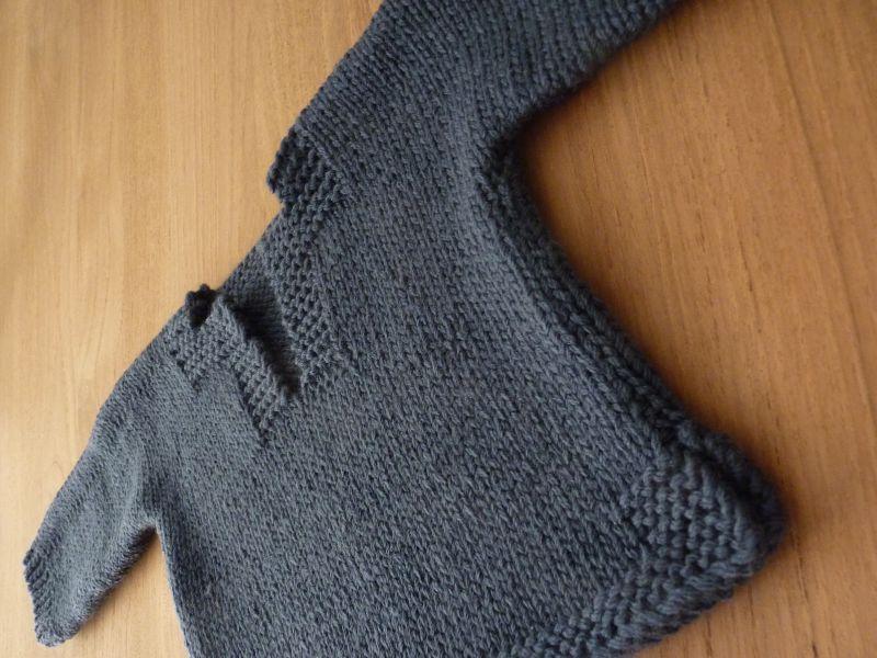 modele tricot bebe 12 mois