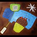 Contre-poids - 32 x 42 cm - Pastels gras sur Canson