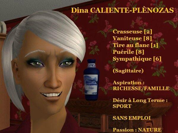 Dina CALIENTE-PLENOZAS