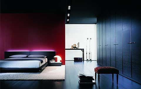 chambre design violet photo de chambres design deco design. Black Bedroom Furniture Sets. Home Design Ideas
