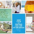 On my desktop ... keep calm and pretend you are at the beach !