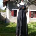 Robe de grossesse d'inspiration russe