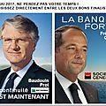 Le directeur général de bnp paribas françois villeroy de galhau va être nommé directeur du trésor.