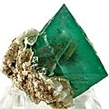 Fluorite with quartz / riemvasmaak, northern cape prov., south africa