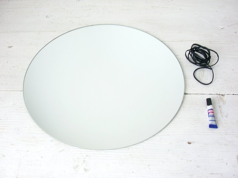 mirroir rond DIY chezpiu 14