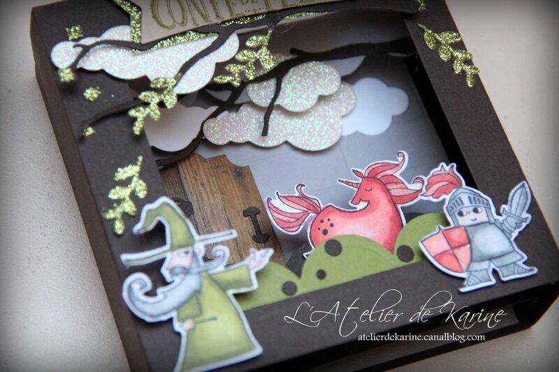 Carte Diorama Conte de Fées 4