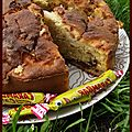 Gâteau pomme carambar