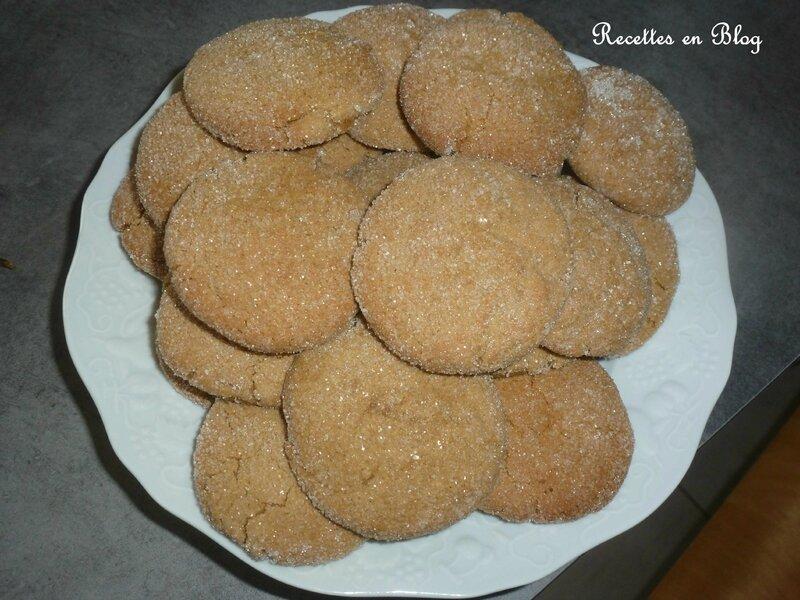 craquants gingembre mélasse1