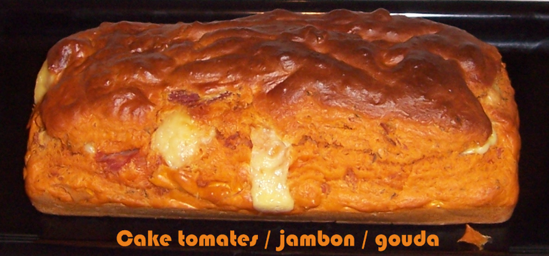 Cake Poivrons Jambon Curry Fromage Blanc