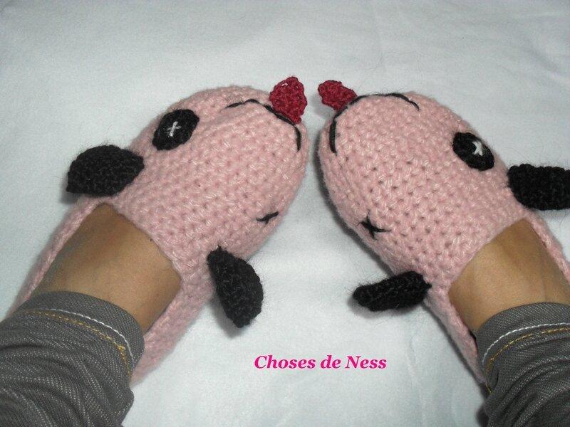 Des chaussons qui ont du chien...