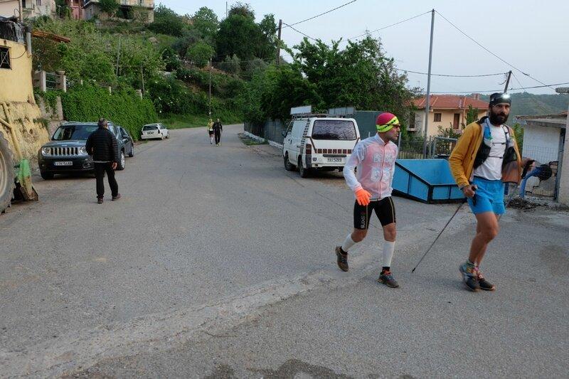 Arrivée à Pefki CP25