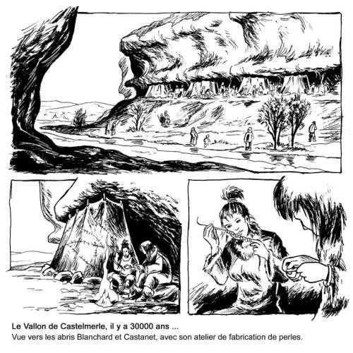Vallon des Roches - Castel Merle