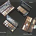 J'ai testé pour vous: les palettes make up revolution