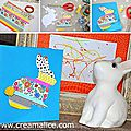 ❀ ✄ diy carte lapin pâques masking tape / diy easter bunny card with washi tape ✄ ❀