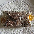 Cannoli chocolat orange