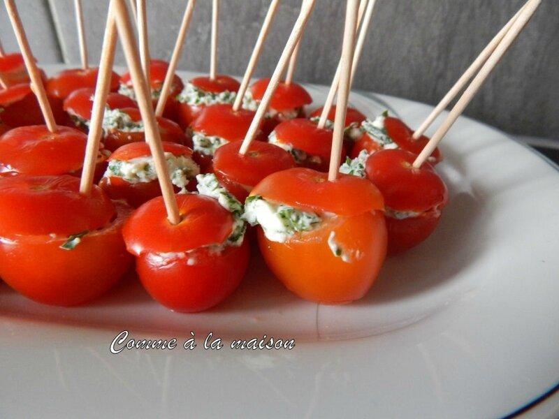 140509 - Tomates cerises aufromage frais persillé (14)