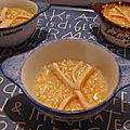 Soupe de surimi au gingembre