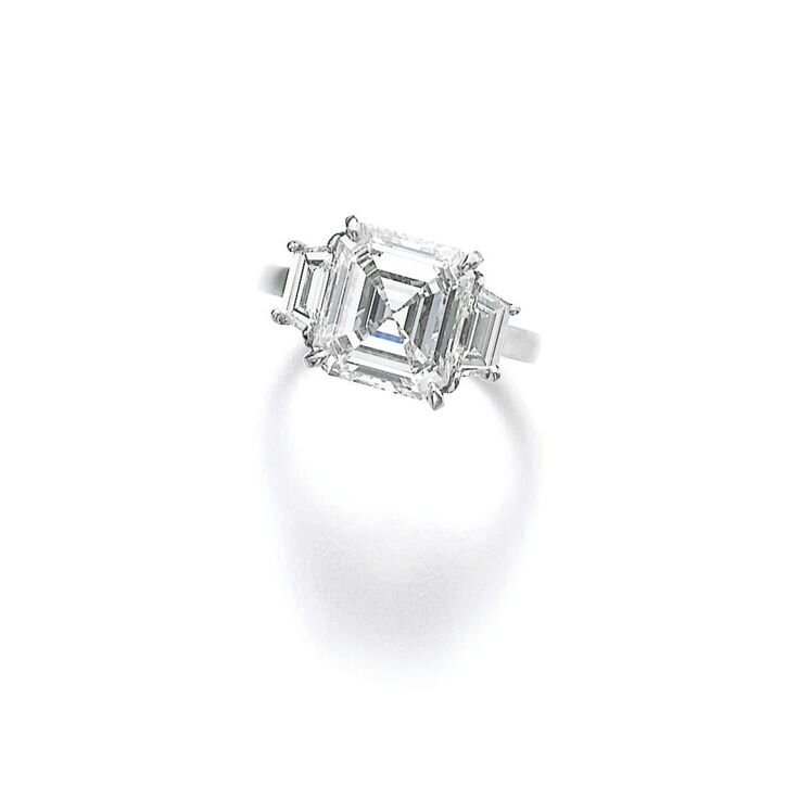 Diamond ring, Cartier