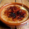 Creme catalane ( espagne )