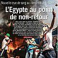 Afrique: l'egypte au-delà des périls