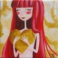 Mon coeur 20x20