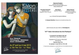 Invitation Salon BA 2013
