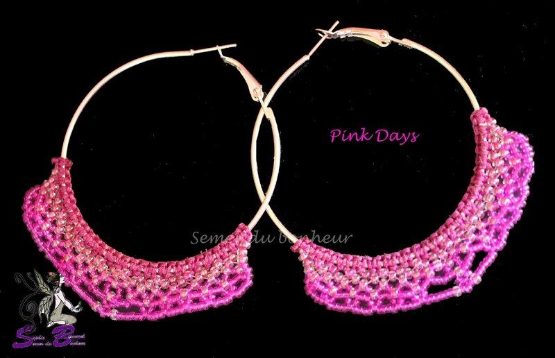 créoles pink days