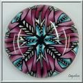 rond rose-turquoise