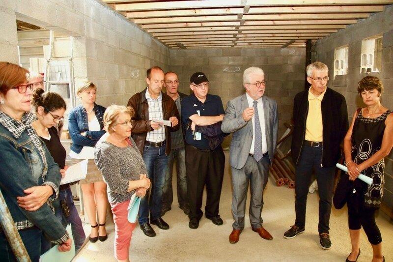 ÉPICERIE SOLIDAIRE AGRANDISSEMENT JUILLET 2017 construction