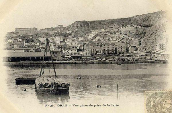 Oran- 106- travail sur les quais