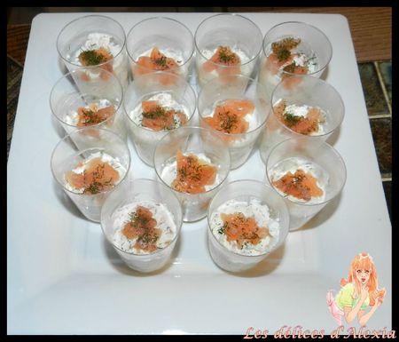 verrine saumon