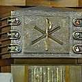 Le tabernacle de Jean Hesse est orné de 12 émaux