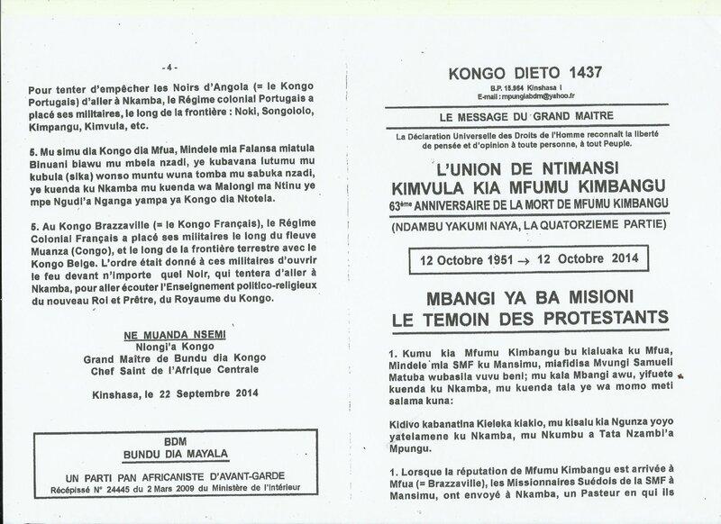LE TEMOIN DES PROTESTANTS a