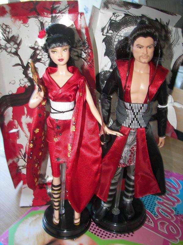 barbie: mon couple japonisant réuni