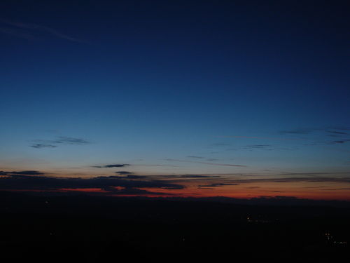 2008 08 11 Le levé du soleil depuis le sommet du Pic du Lizieux (2)