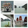 La baie d'along (vinh ha long)