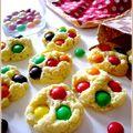 Cookies m&m's chocolat