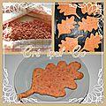 Biscuit aux pralines roses