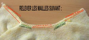 RELEVER LES MAILLES