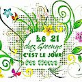 "Le ""Jour des fleurs"" qui continue son chemin ! J"