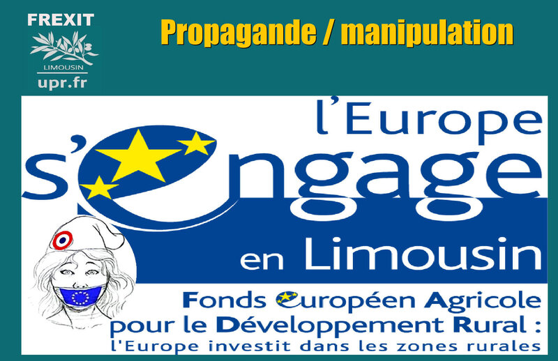 OUTIL PROPAGANDE UE LIMOUSIN