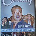 Dvd celebrity brad pitt neuf