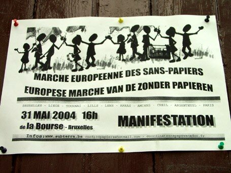 L'Affiche de la Marche en Belgique