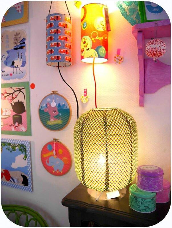 lampes Babalove et Klevering