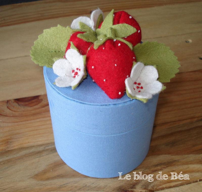 boite fraisier