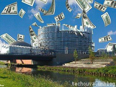 """Le """"pognon"""" des européens pour nos eurodéputés : ils doivent vraiment se marrer, en pensant aux abrutis qui les ont installés."""